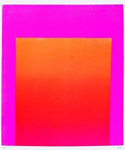 WVG 83, Rot-Orange auf Pink, 1965/1968
