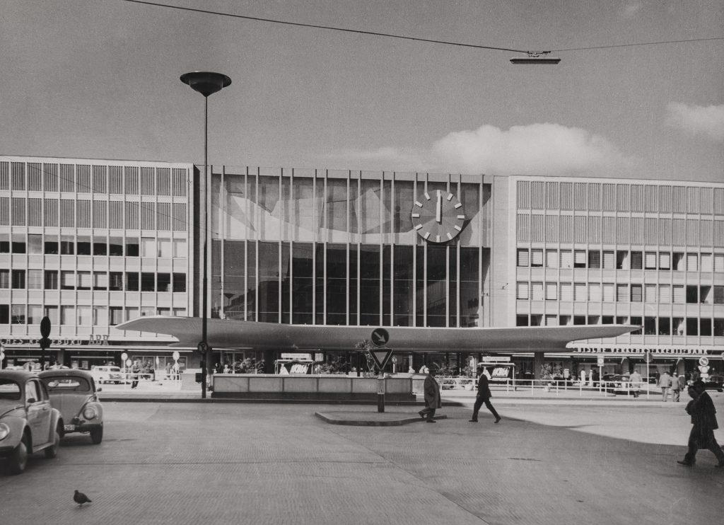 Hauptbahnhof 1951 Foto: Archiv Geiger, Walter Bayer, München